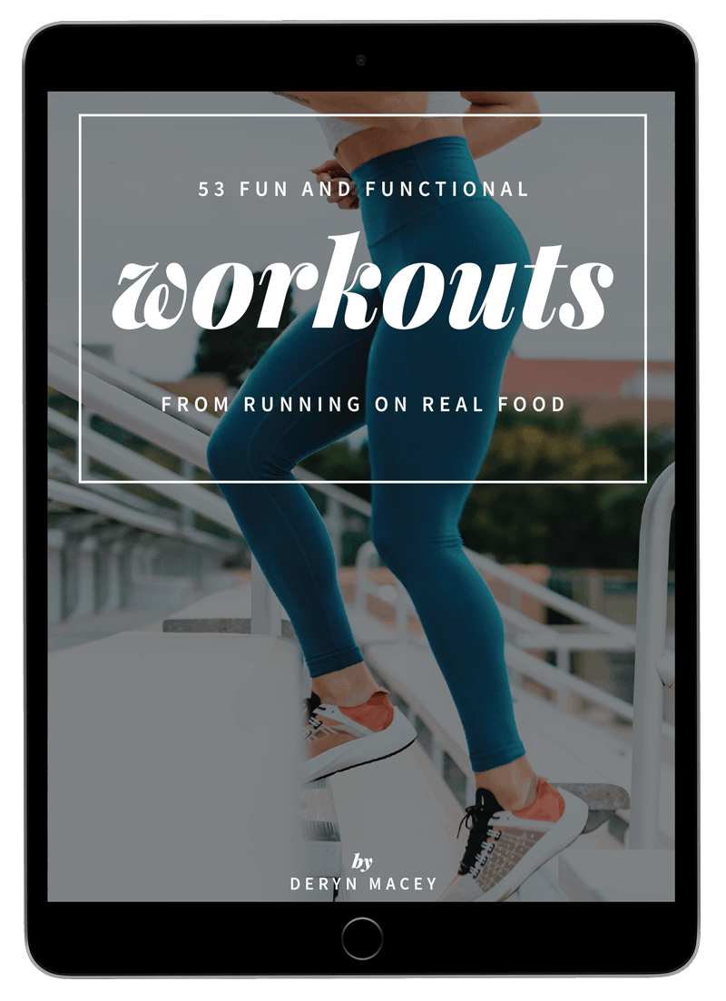 50 Fun and Functional Workouts from Running on Real Food