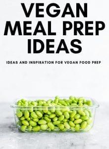 Week 13 vegan meal prep ideas from Running on Real Food.