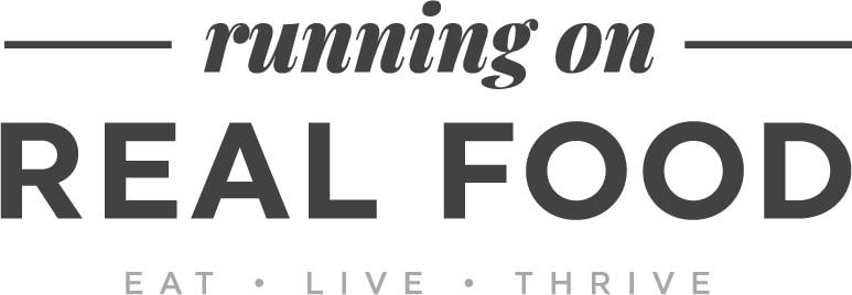 Running on Real Food logo