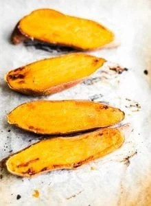 How to cook sweet potato.