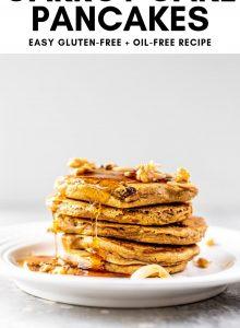 Vegan Carrot Cake Pancakes Pinterest Graphics