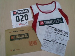 TNF Thrill of the Trail Race Kit