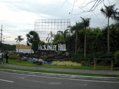 U-turn spot at McKinley Hill