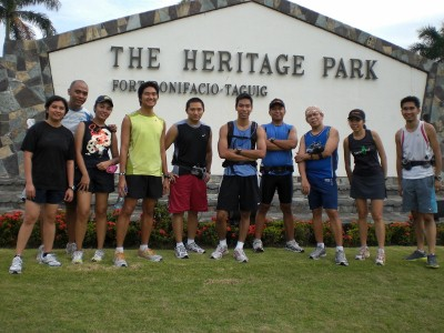 Class picture at Heritage Park