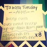 Tabata Tuesday