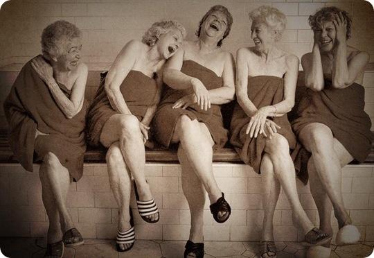 older-women-in-sauna-laughing