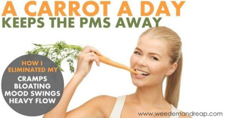 PMS and carrot