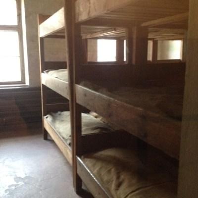 Auschwitz bedden