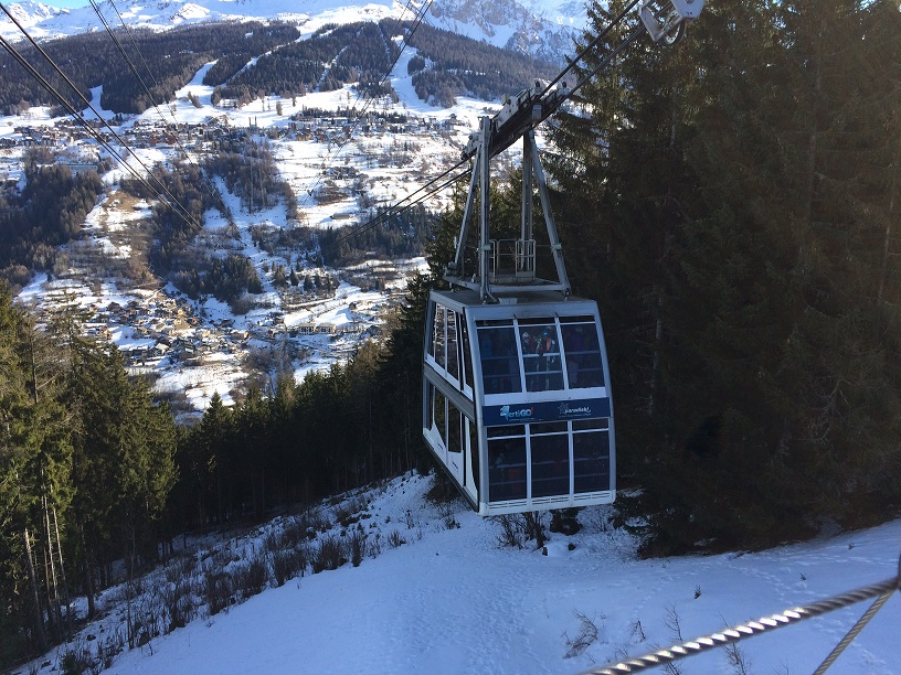 Paradiski – van La Plagne naar Les Arcs en weerom
