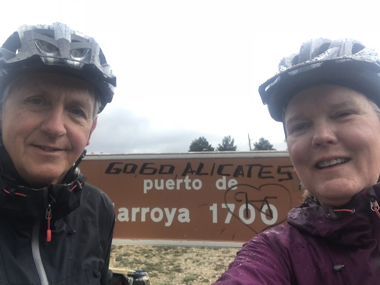 Peppi & Kokki hebben nog slechter weer in El Maestrazgo in Viva Espagna