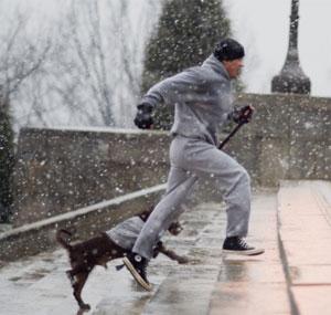 EXCLUSIF : on a photographié PAP en pleine prépa cet hiver !