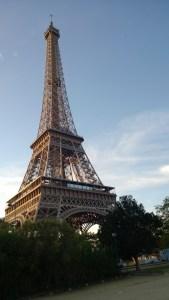 Classique photo de la Eiffel Tower.