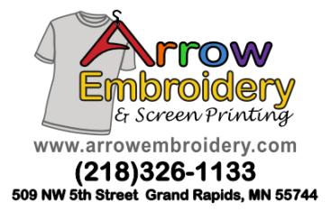 Arrow Embroidery logo