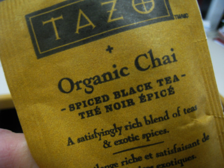 Tazo Chai Tea