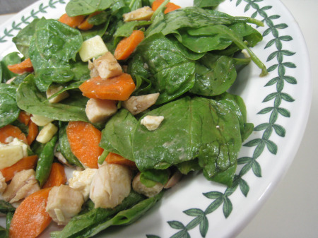 8.4 spinach salad