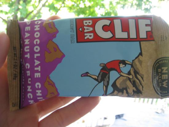 9.13 Cliff bar