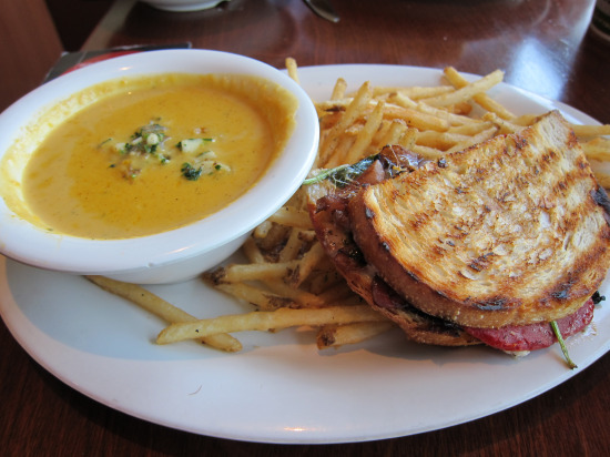 11.12 Butternut squash - veggie panini
