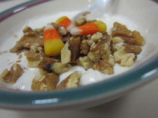 11.12 Greek yogurt walnuts