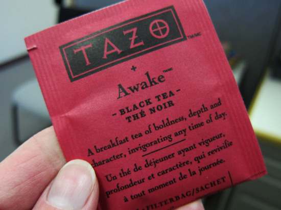 11.12 Tazo Awake Tea