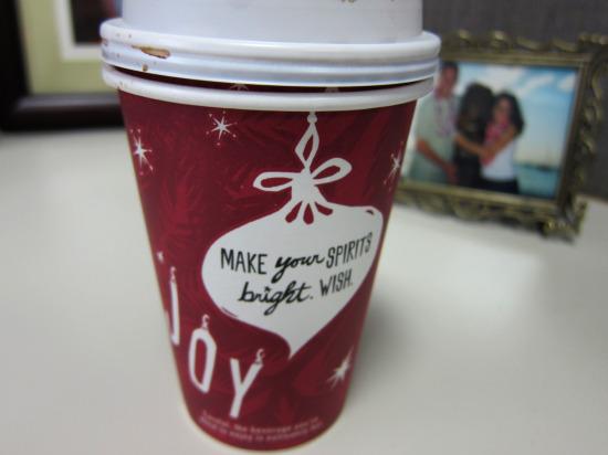 11.17 Starbucks Skinny Mocha