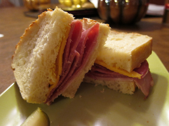 11.20 Salami and Ham sandwich 1