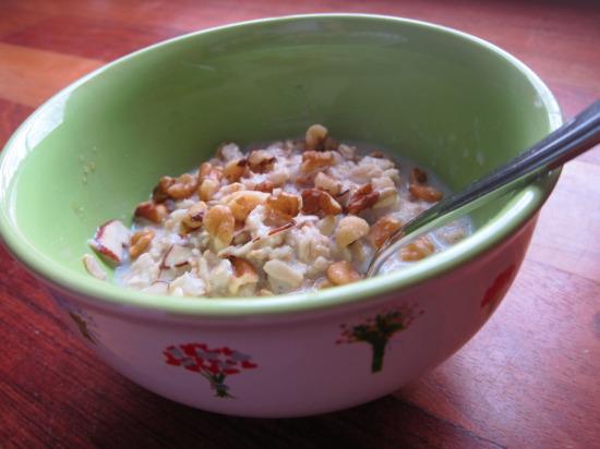 12.27 oatmeal