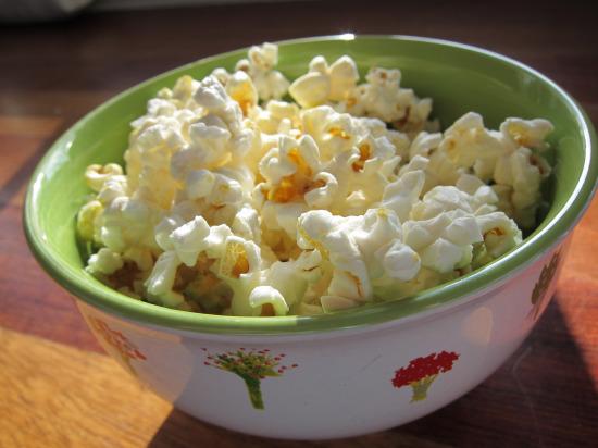 12.4 Low calorie popcorn