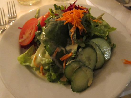 12.5 green salad
