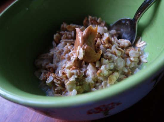 12.5 oatmeal with granola 2