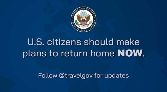 US to Americans: US Citizens Should Make Plans to Return Home NOW ...