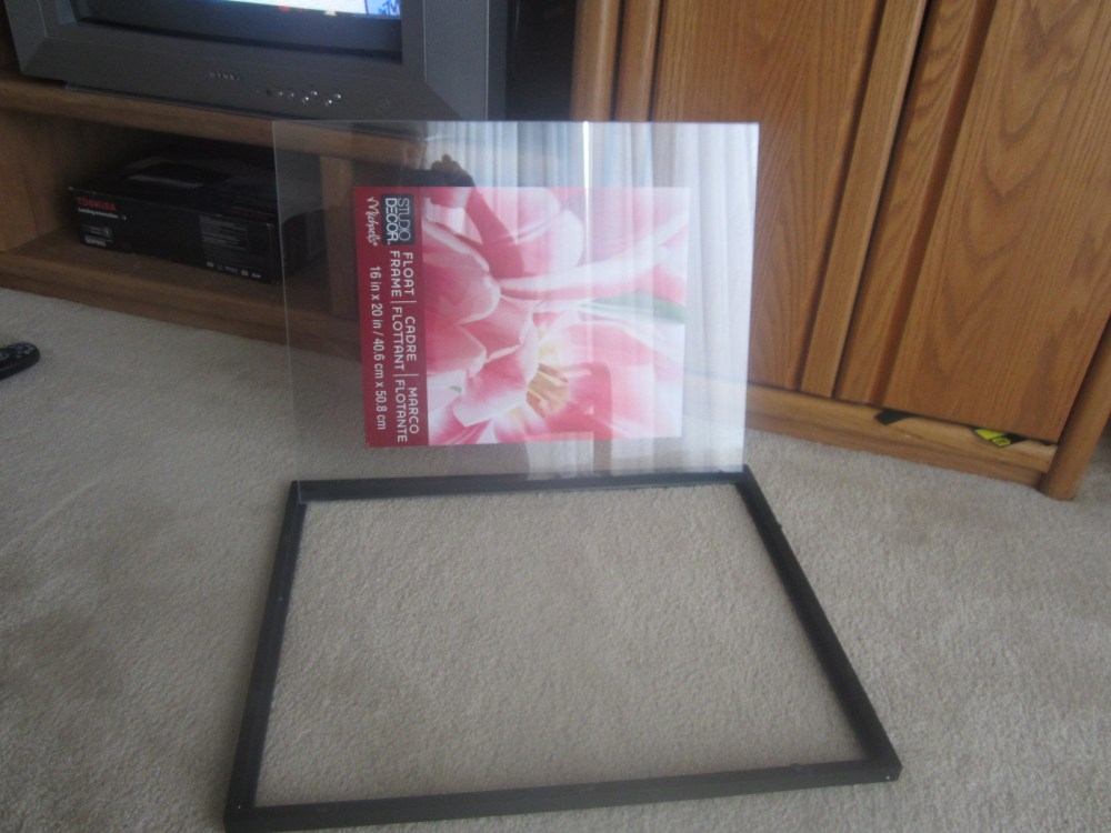 Do It Yourself Decorations:  Fabric Accent Frame (2/6)