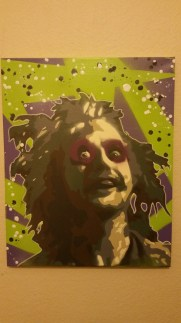 """Beetlejuice"" - Spray Paint"
