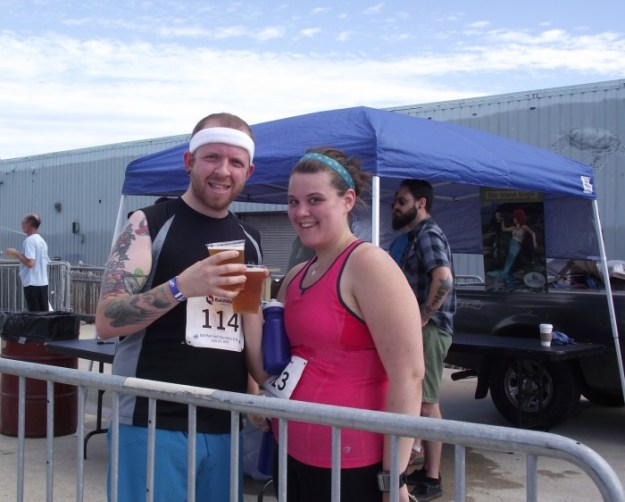 Cheers to an awesome month of running! Now let's do this!