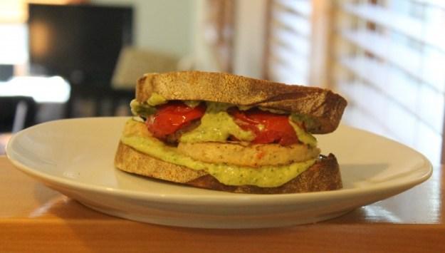 MorningStar- Pesto Chik'n- Meatless Monday