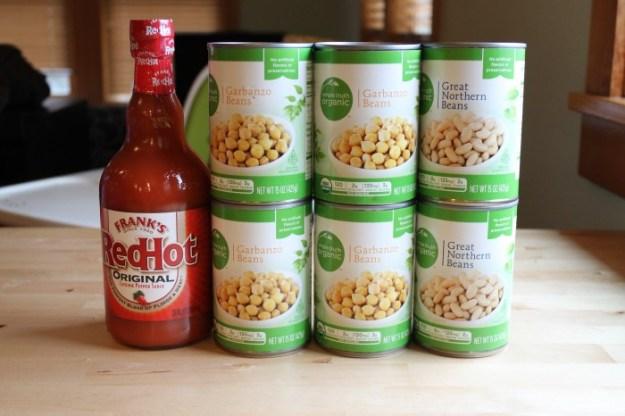 Groceries Week 2 Beans