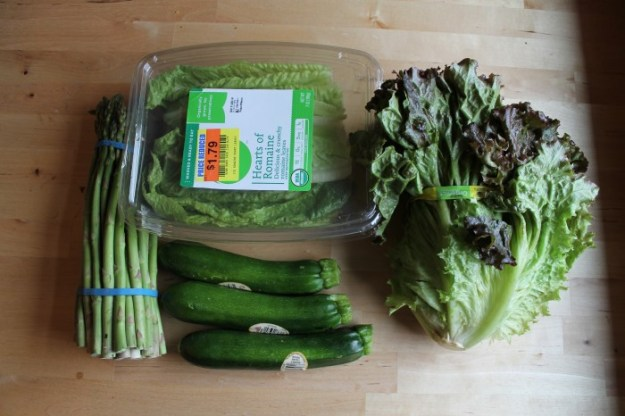 Groceries Week 2 Greens