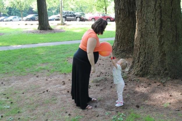 mt tabor park belly ball