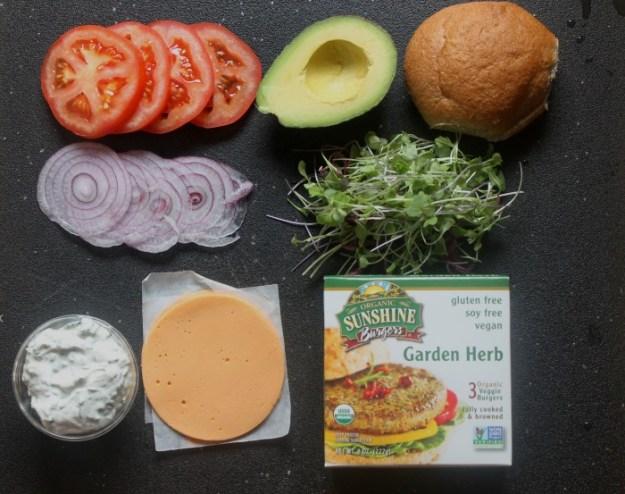 Sunshine Burgers: Cali Burger