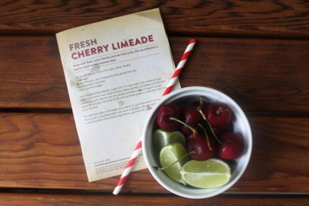 WFCherryFest-Fresh Cherry Limeade Recipe