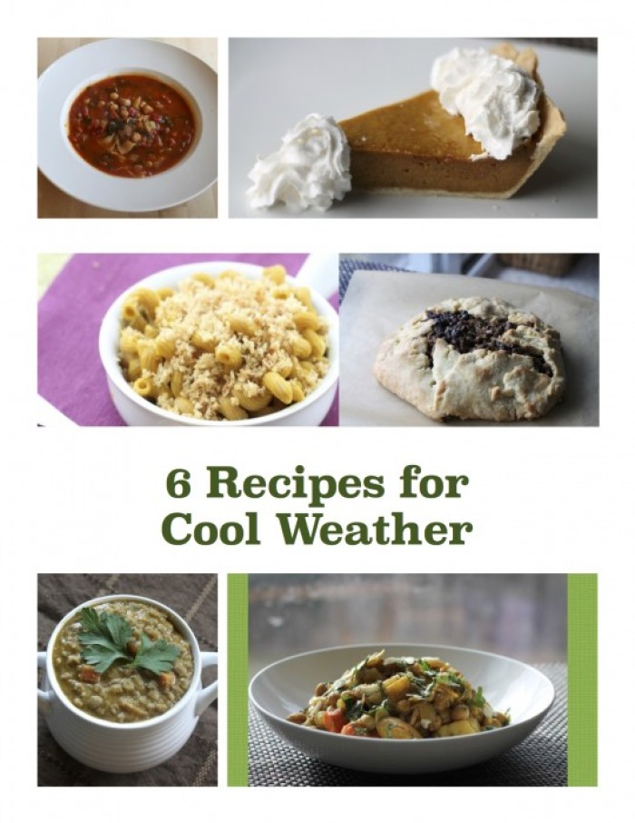 6 recipes for cool weather