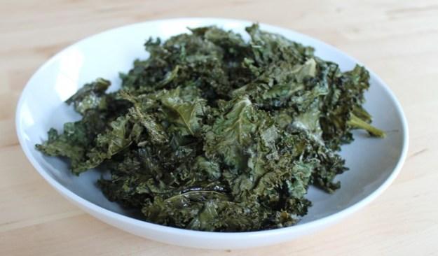 Tots in The Kitchen Salt & Vinegar Kale Chips