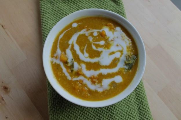 Red Lentil Kabocha Curry