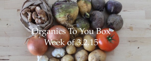 Organics To You Box 1