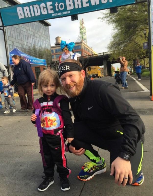 Bridge to Brews - post kids race