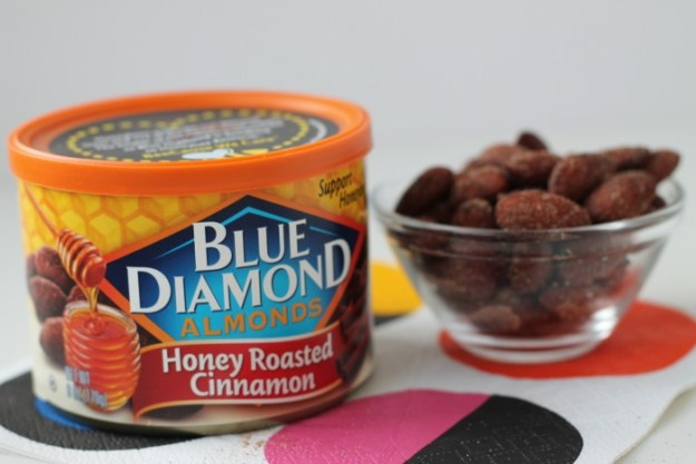 blue diamond almonds - honey roasted cinnamon