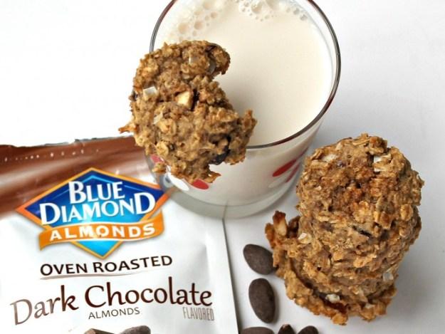 WIAW   Vegan Lactation Cookies   Featuring Blue Diamond Almonds