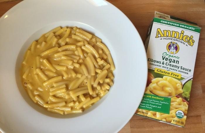 vegan mac and cheese throwdown- annie's homegrown