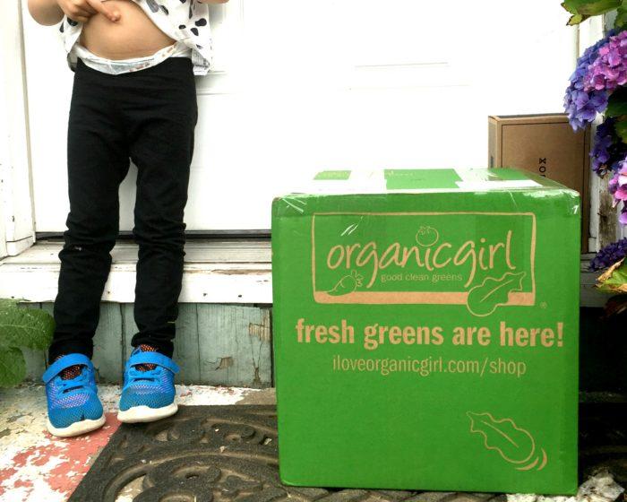 Organic Girl Delivered
