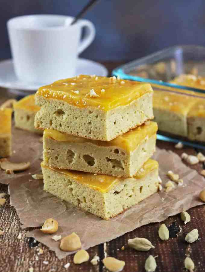 Cashew Cardamom Bars And Poise for Travel Gift Basket for Mom