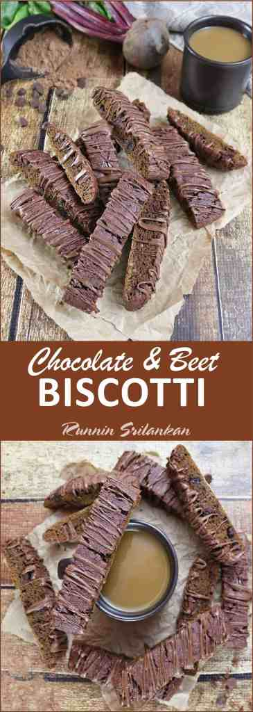 Chocolate Beet Biscotti {Gluten-Free} #WipeAwayHolidayMess #ad